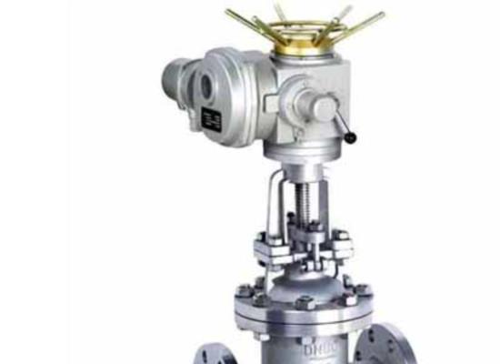 AC220V開關型電動法蘭閘閥Z41H手動執行器閘閥