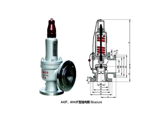 上海制发安全阀A42F-16C DN400液化石油气专用