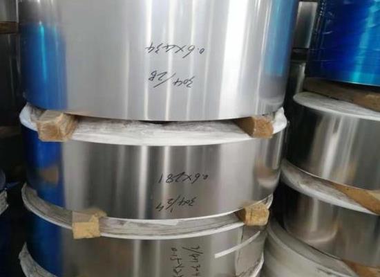 SUS304不锈钢弹簧片 不锈钢双≡面拉丝带 厂家供应