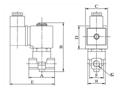 进口高压电磁阀结构图