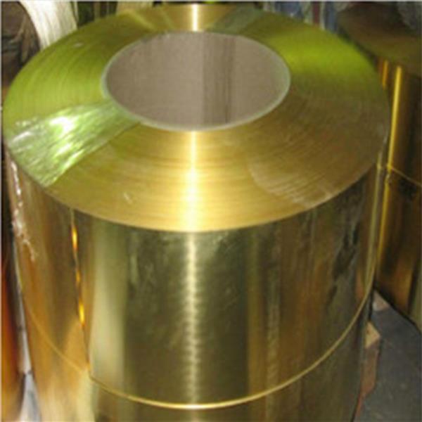 h62导电纯黄铜带0.1 0.15 0.2 铜带任意分条
