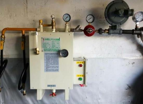 20kg汽化器安特双臂也得以暴露在尔电热式汽化炉