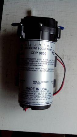 AQUATEC CDP6800/CDP8800增压泵隔银针膜泵