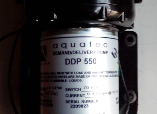 原裝進口AQUATEC DDP550水泵隔膜泵