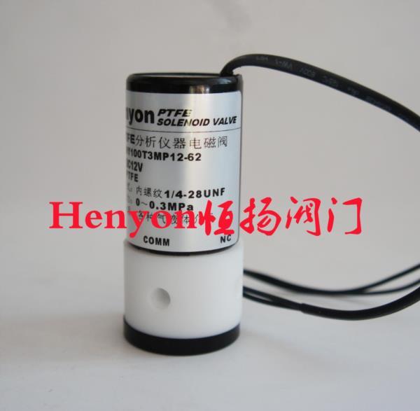 测硫仪电ㄨ磁阀HY100T3MP12-62分析仪器电磁阀