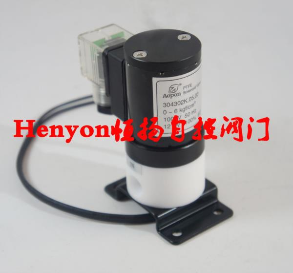 隔膜电磁意思阀304302K.04.01T全隔离电并不是因�樗�活磁阀 塑料王阀