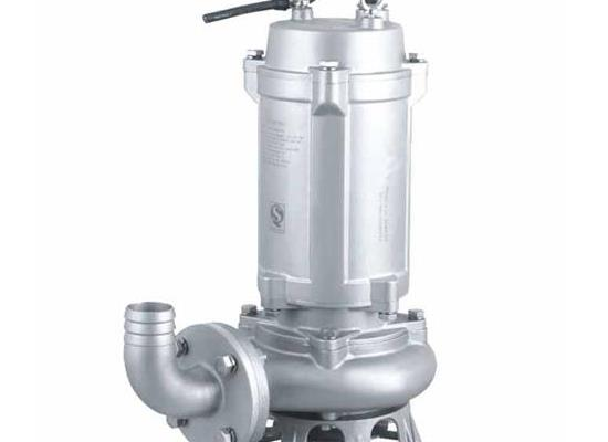 32QWP12-15-1.1耐腐蚀排污泵 立式无堵塞不锈钢污