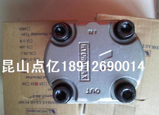 HYDROMAX齿轮泵HGP-3AF17R
