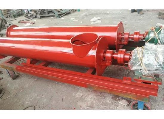 管式螺旋輸送機的使用材質-滄州重諾介紹
