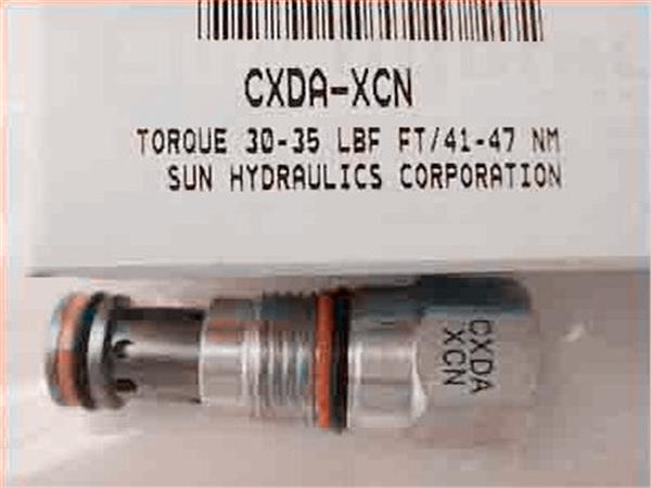 SUN插装阀 单向阀 CXDA-XZN CXDA-XAN