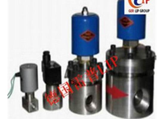 进口LNG电磁阀高压的 进口一道漆黑色快装电磁阀