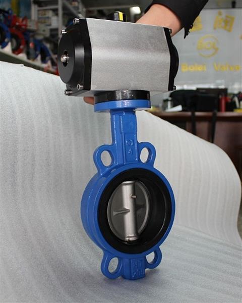D671XP-16Q气动对夹蝶阀