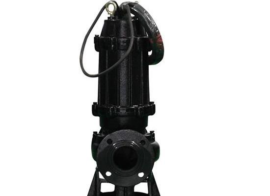 切割式潜水污水泵 农村污水处理 养殖粪便水排放带切刀式排污泵