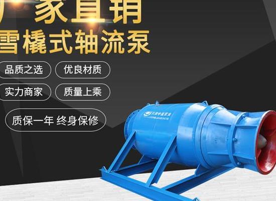 大流量潜水轴流泵 专业潜水不是仙石泵污水泵深井泵 厂家