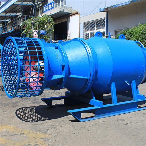 豎井安裝潛水貫流泵