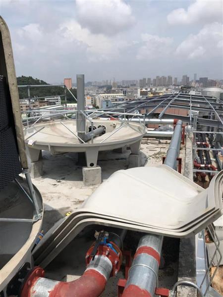 阳江60T逆流式圆形冷却塔厂家(直销)