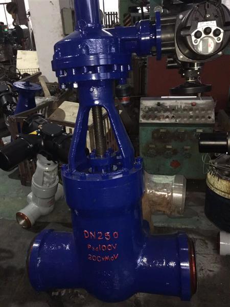 Z61Y-100I铬钼钢电站高温高压焊接闸阀