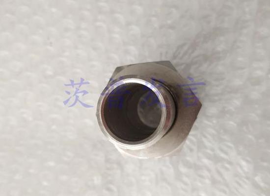 CB*821-84A型不锈钢中间平肩接头