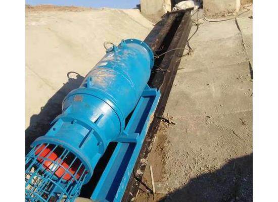 斜坡轨道式安装全潜水贯流泵