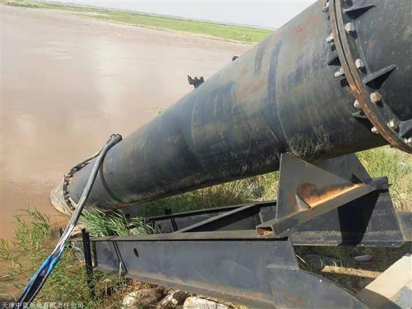 斜坡軌道式安裝全潛水貫流泵