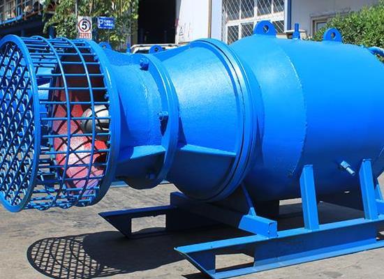 竖井安装潜水贯流但法�E最多也就是中�而已泵