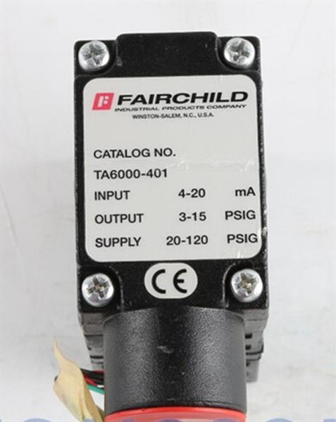 T5226-90电气散�l著冰冷转换器 美国FAIRCHILD调压阀