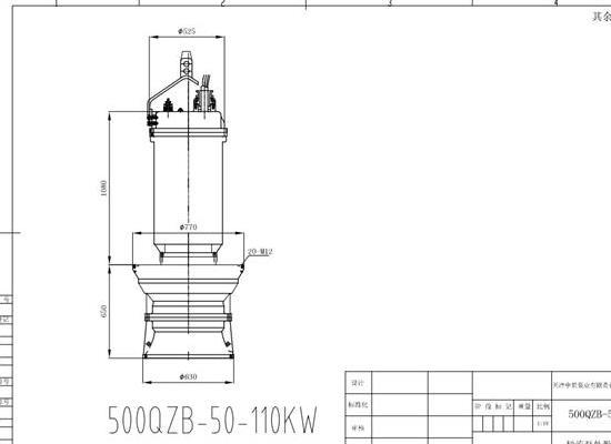 潜水轴流泵安装�@到底是什么攻�羰疽馔� 轴流泵生产厂家