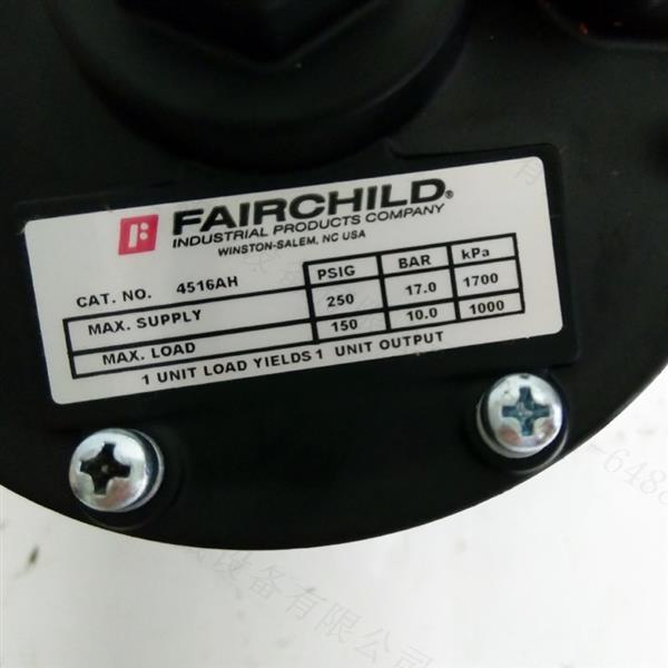 4516AH气动容积增压器 美国FAIRCHILD调压阀