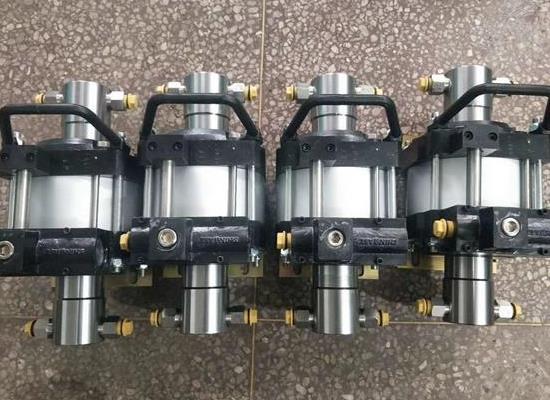GD400气液增压泵 气液增压系统 水压试验机