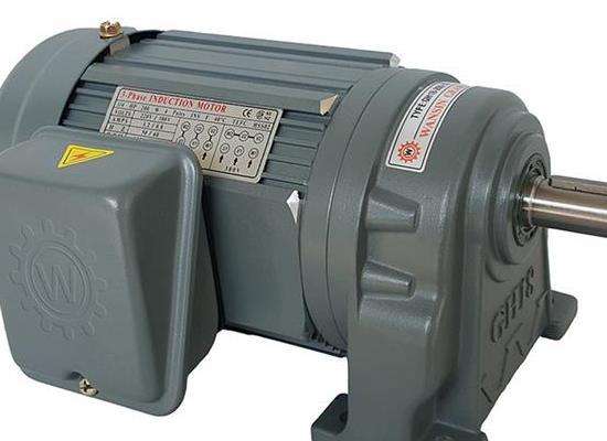 厂家直销减速电机GH18-75-5S万鑫纸箱机用卧式减速马达