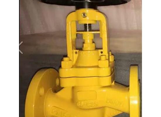 WJ41F-16C氯气波纹管截止阀