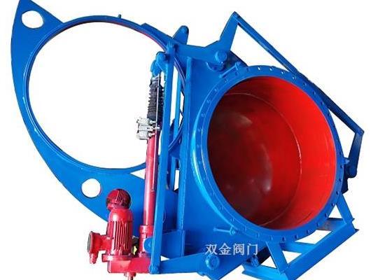 F943X電動推桿眼鏡閥、溫州廠家雙金供應