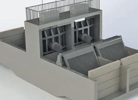 一体化泵闸系统