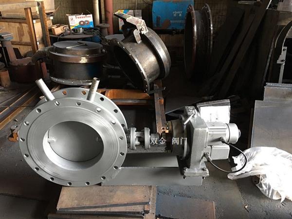 DT943H电动高温蝶阀 不锈钢焊接结构