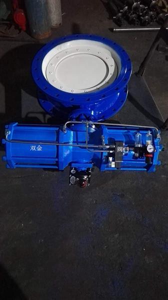 MD343S-1气动耐磨尘气蝶阀