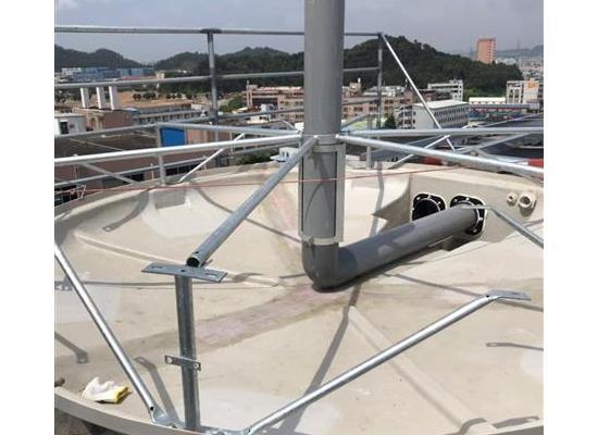 新余100T高强度圆形冷却塔厂家直销