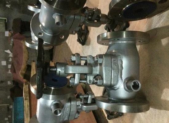 BJ41W-1500LBP锻不锈钢保温截止阀