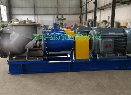 FJX鈦材軸流泵鈦強制循環泵鈦蒸發泵
