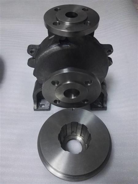TA2TA10钛叶轮钛泵体钛第三百九十一焊接泵体