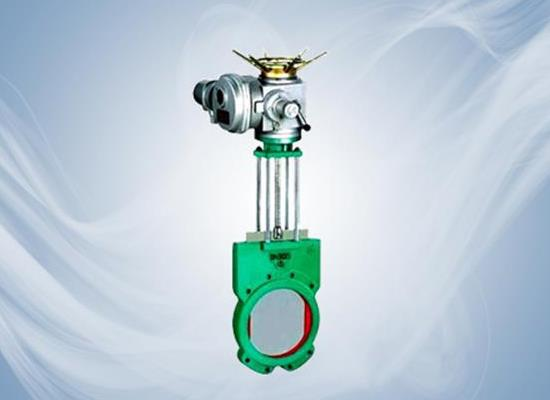 電動刀型漿液閥