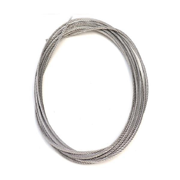 316L不锈钢竹棍�D�r被他招到手里包塑绳 河第四百六十一源不锈钢钢丝绳厂家 配件加工
