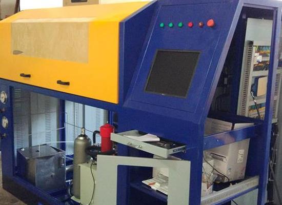 新款LNG低溫氣瓶整套檢測設備