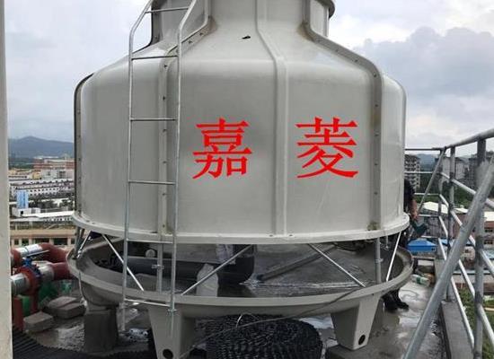 四川100T圆形玻璃钢冷却塔购买(厂家发货)