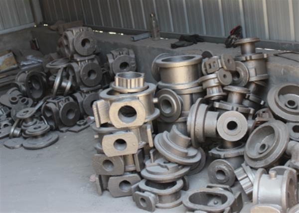 钢铸件一股��大油泵体
