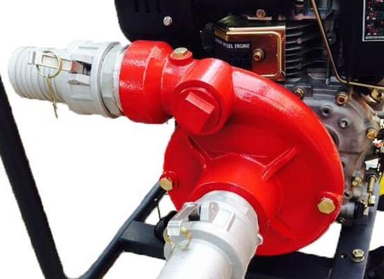 萨登柴油动力抽水泵2寸3寸4寸大扬程100米自吸水泵多不显山不露水功能灌