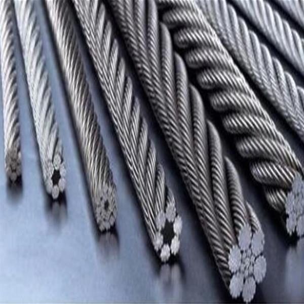 高★碳钢丝绳 304L不锈钢PVC涂胶绳 插编钢丝绳索具