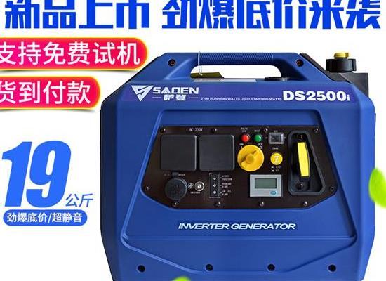 薩登數碼2.5KW汽油發電機