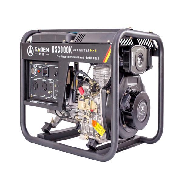 薩登柴油發電機2KW3KW單雙相