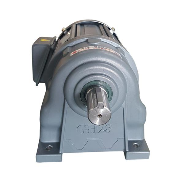 万鑫GH28-200-100工业机械卧式齿轮减速电机