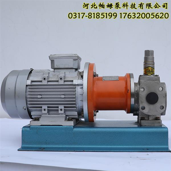 齿轮油泵不锈钢齿轮泵